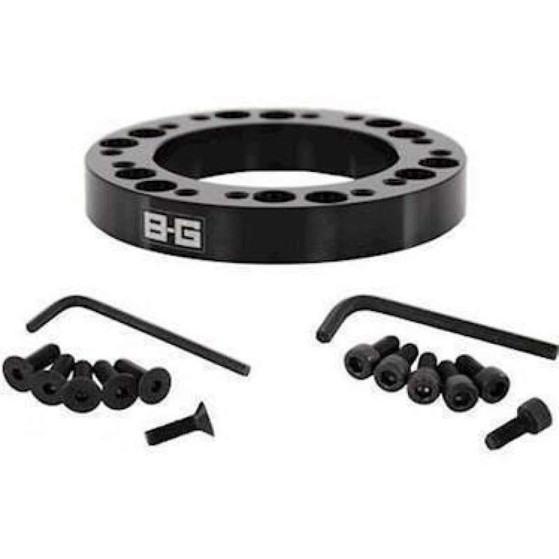 B-G Racing rat spacer/adaptor 12.5mm 6x70 / 6x74 PCD (med bolte)