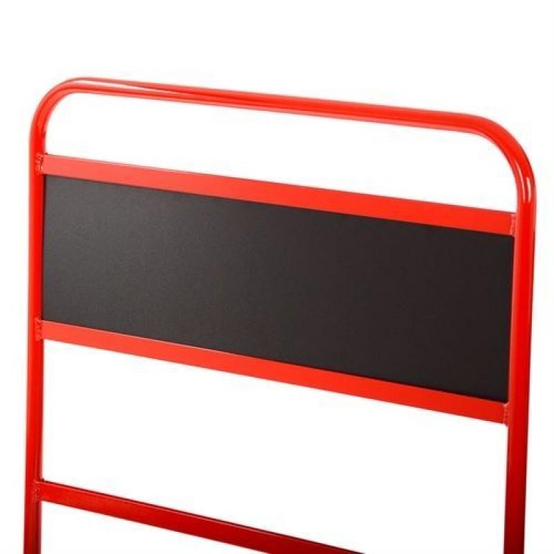 B-G Racing skilteplade til standard pitboard i sort PVC