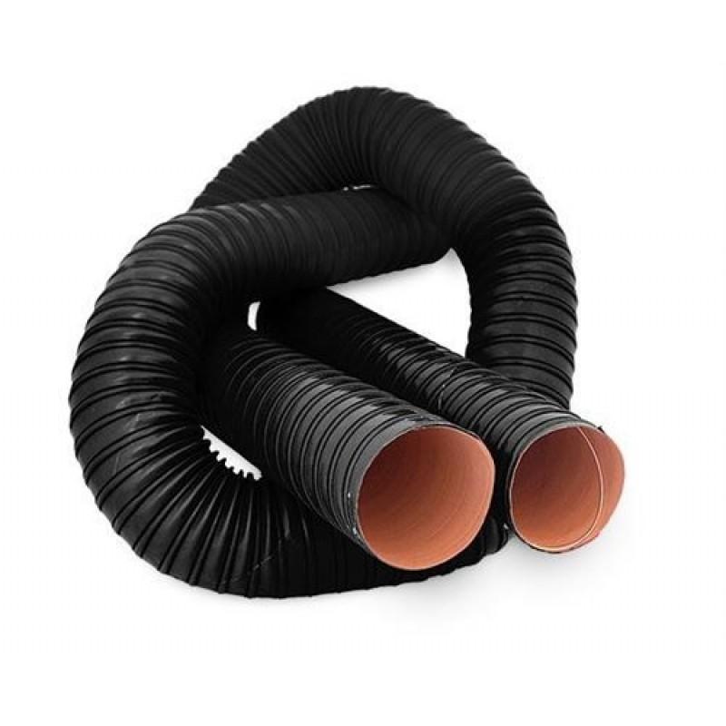 Ducting slange 2-lags. Indvendig diameter 76mm. Pris per meter.