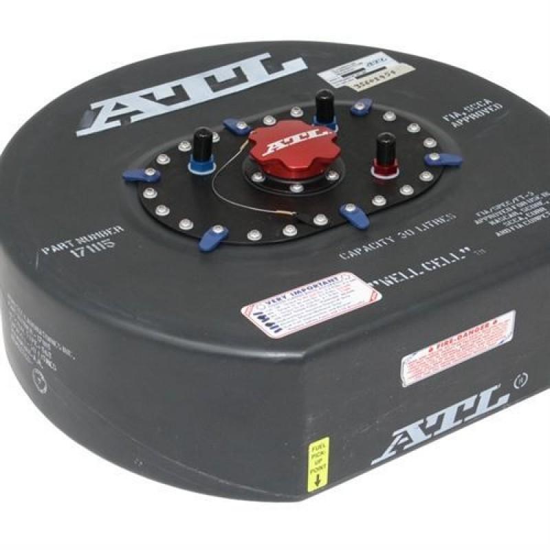 ATL Saver D benzintank 30 liter. FIA-godkendt certifikat inkluderet.