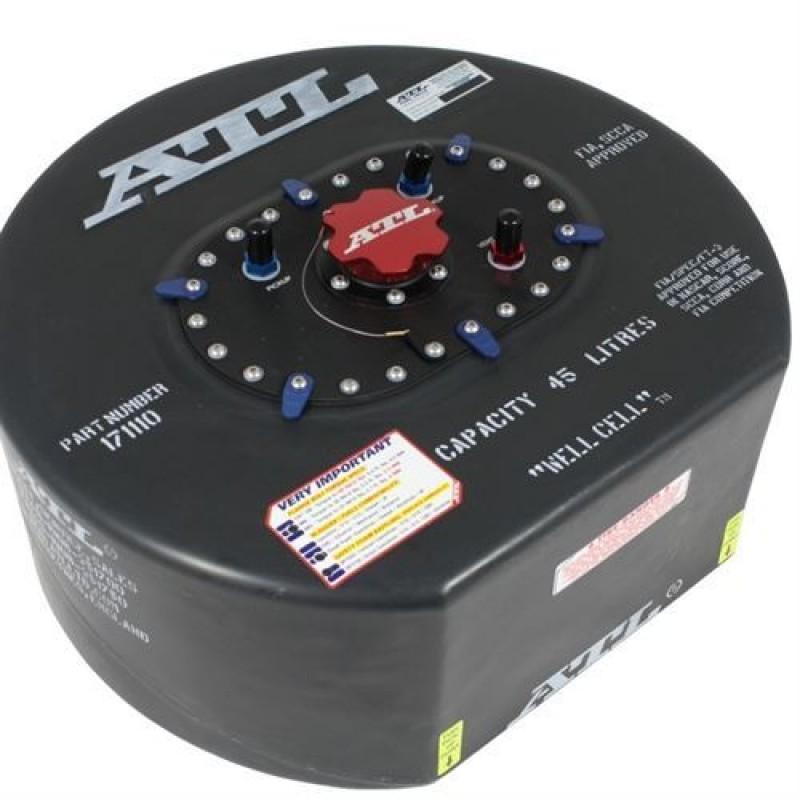 ATL Saver D benzintank 45 liter. FIA-godkendt certifikat inkluderet.