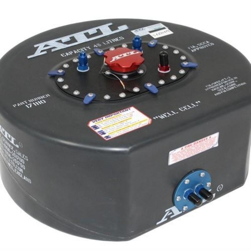 ATL Saver D benzintank 45 liter med opsamler. FIA-godkendt certifikat inkluderet.