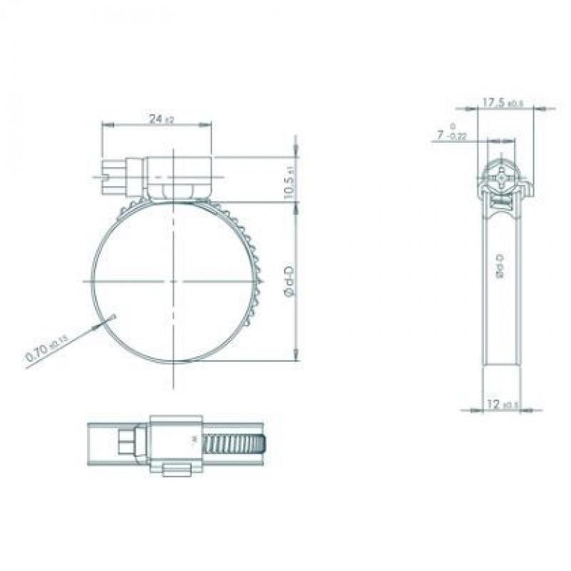 TriaW4spndebnd2540mmdiameterBredde12mmRustfri-00