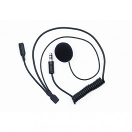 Zeronoiseindbygningsmikrofonog35mmhunstiktilreproppertillukkethjelmmedhanNexusstik-20