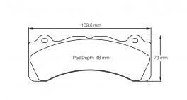 PagidbremseklodsS8061RSC1-20