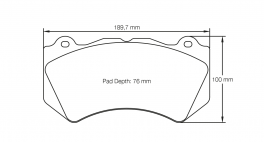 PagidbremseklodsS8083RSC1-20