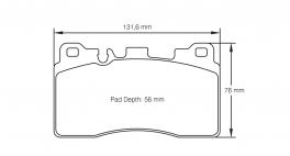 PagidbremseklodsS8089RSC1-20