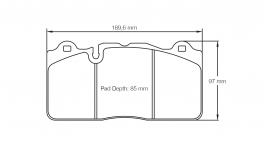 PagidbremseklodsS8091RSC1-20