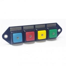 Cartekkontaktpaneltilrelbox4farvedeknapper-20