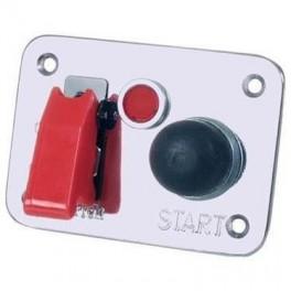 Kontaktpanelmed1knaptiltnding1trykknaptilstartogrdadvarselslampe-20