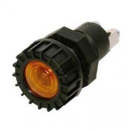 Storlampetilfeksadvarselslysladelampe12V2WGul-20