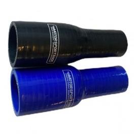 Silikoneslangereducerendeligeslangemed3825mmindvendigdiameterLngde127mmFsiblellersort-20