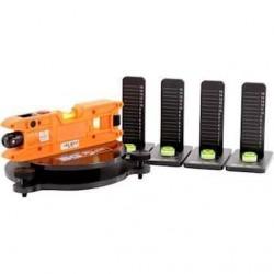 B-G Racing laserkit til opsætning af vægte i samme niveau. Leveres i opbevaringskasse